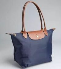 NEW AUTHENTIC LONGCHAMP LE PLIAGE Nylon Tote Bag Navy Blue Large