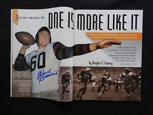 SEP 3 1990 Sports Illustrated MAGAZINE Chuck Bednarik SIGNED Philadelphia Eagles