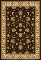 "Persien BROWN BEIGE AREA RUG 8X10 ORIENTAL CARPET 1001 - ACTUAL 7' 8"" x 10' 2"""