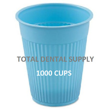 Disposable Cups Blue 1000 Pc/Case 5 oz. Dental Rinse Medical Spa Nursing Tatto