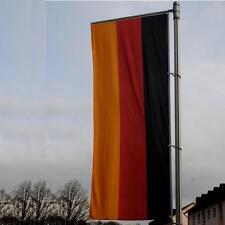 Deutschland Qualitätsflagge BRD Fahne Hochformat 300 x 120 cm Werbung NEU