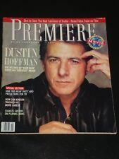 PREMIERE magazine 1989, Dustin Hoffman, Charles Grodin, Sam Kinison, Fame, RARE