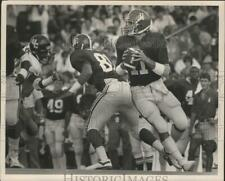 Press Photo University Of Alabama Quarterback Mike Shula Looks For A Receiver