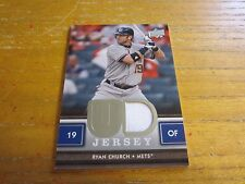 Ryan Church 2008 Upper Deck UD Game Materials #RC Jersey Relic Card MLB Mets