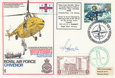 Rare C16d RAF Chivenor taken from Clovelly Devon to Lundy Island Signed J.M.Hunt