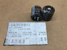(5 pcs) LGQ2W680MHSC - Nichicon, 68uF 400V 105*c, Snap-In Electrolytic Capacitor