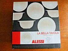 2  x Alessi La Bella Porcelain Cereal, Soup, Dessert Bowls, 16 cm,