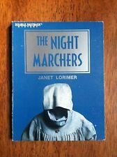 Janet Lorimer THE NIGHT MARCHERS Fearon Double Fastback Mystery L@@K WOW!!!