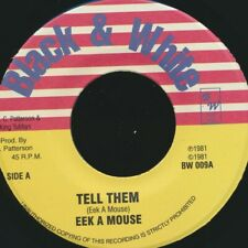 "NEW 7"" Eek A Mouse - Tell Them  /  King Tubby - Tall Man Dub"