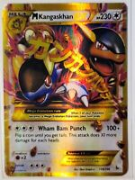 M Kangaskhan-EX - 109/106 - Ultra Rare NM Pokemon XY Flashfire - LP/NM