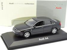 Minichamps 1/43 - Audi A4 2002 Noire