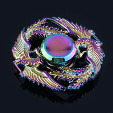 Rainbow Alloy Phoenix Fidget Hand Spinner Relieve Stress EDC Finger Gyro Toys