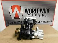 2009 Detroit DD15 Air Compressor with Power Steering. Part # K019983