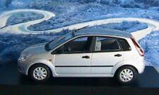 FORD FIESTA 2002 4 PORTES SILVER MINICHAMPS 1/43 4 DOOR ARGENTEE SILBER DOORS