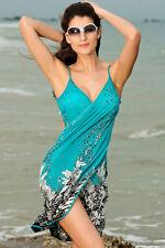 Sexy Open Back One Piece Wrap Beach Wear Swim wear Bikini Cover up Summer dress