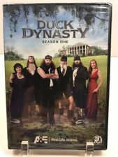 New Sealed Duck Dynasty Season One DVD A&E Real Life Drama Willie Jase Corey