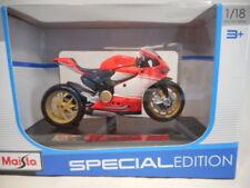 Motos et quads miniatures jaunes en plastique pour Ducati