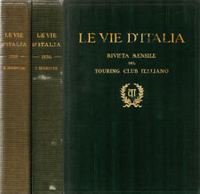 Le vie d'Italia - 1936. Rivista mensile del Touring Club Italiano. 1936. .