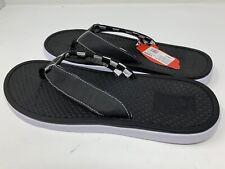 NEW Vans Ultracush Sea Black White Men's Sandals Flip Flops Size 11
