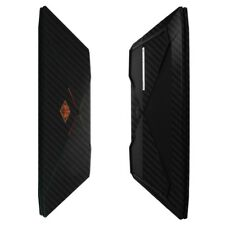 Skinomi Black Carbon Fiber Skin Protector for HP Omen (15-CE011DX)