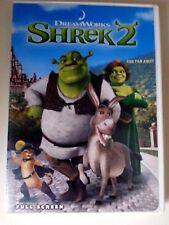 Shrek 2 (Dvd, 2004, Full Frame) Cameron Diaz Mike Myers Kids Movie donkey cat !