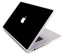 BLACK Vinyl Lid Skin Cover Decal fits Apple MacBook Pro 13 A1278 Laptop