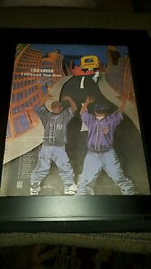 Kris Kross I Missed The Bus Rare Original Tour Promo Poster Ad Framed!