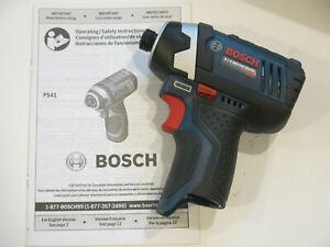 "Bosch PS41 12V Max 1/4"" Hex Cordless Impact Driver Bare Tool"