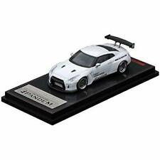 ignition model 1/64 PANDEM NISSAN Skyline R35 GT-R White IG1745 w/ Tracking NEW