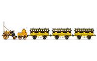 Hornby R3810 OO Gauge L&MR, Stephenson's Rocket Train Pack - Era 1