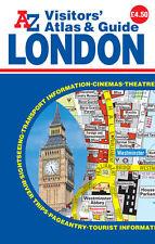 London Visitors Atlas & Guide by A-Z Maps (Paperback)