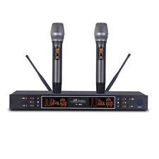 Professional Microphones UHF KTV Party Mic System dual Handheld Wireless Karaoke
