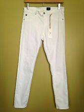 NWT Adriano Goldschmied AG The Legging Ankle Super Skinny White Jeans 30 R $168