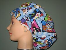 Surgical Scrub Hats/Caps Christmas Squares