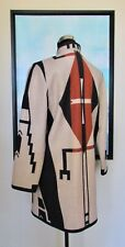 Native American Cheyenne Eagle Blanket Coat by Ben Nighthorse Campbell Size XXS