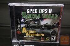 Spec Ops II: Omega Squad (Sega Dreamcast 2000) FACTORY SEALED! - RARE!