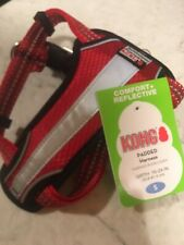 Kong Dog Harness size SMALL Red Padded Reflective NEW