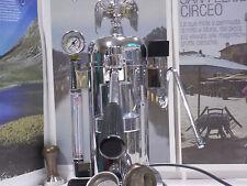 RARE Zacconi Riviera chrome luxury italy lever espresso machine 220V / 110V