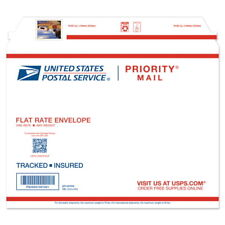 USPS New Castillo de San Marcos Prepaid PM  Flat Rate Envelope Pack of 5