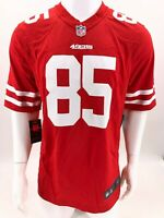 New Nike 2020 San Francisco 49ers George Kittle #85 Game Edition Jersey Scarlet