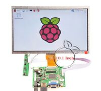 10.1 Inch 1024*600 LCD Display HDMI+VGA+2AV for Raspberry Pi 3 / Pi 2 / B+ / A+