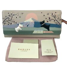 Radley Games Large Leather Picture Purse Cards Wallet