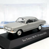 IXO IKA Torino 380 W 2 Puertas 1967 Silver Diecast Models Limited Edition 1/43