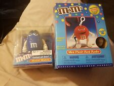 M&M's blue Motor Mates & mini plush red radio w/headset both new in box
