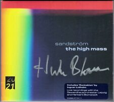 Herbert BLOMSTEDT Signiert SANDSTRÖM High Mass LIDHOLM Kontakion 2CD Barainsky