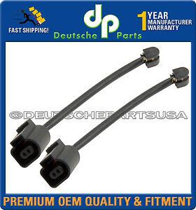PORSCHE Cayenne Panamera 2010-2016 Rear LH & RH Brake Disc Pad Wear Sensor Set 2