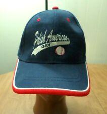 POLISH AMERICAN DAY embroidery baseball hat vtg Comerica cap Poland Pride OG
