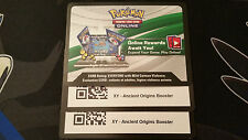 2x Ancient Origins XY Booster Pack Pokemon TCG Online CODE *FREE SHIPPING*
