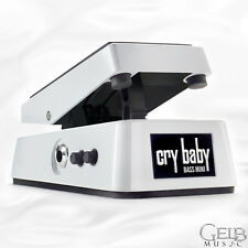 Dunlop Mini Bass Crybaby Wah Wah Pedal in White - CBM105Q