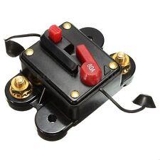 Car Boat Audio Amplifier Inline Circuit Breaker Fuse Holder for DC 12V 80A Guard
